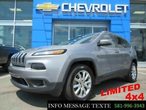 2016 Jeep Cherokee 4x4 Limited, GPS