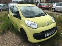 CITROEN C1 1.0 2007 + SERVICE HISTORY + SPARES AND REPAIRS