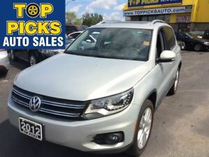 2012 Volkswagen Tiguan LEATHER, PANORAMIC SUNROOF, LOW MILEAGE!