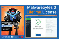 Malwarebytes 3.1.2 Lifetime License (Authorized Reseller)