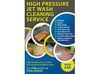 High pressure jet washing make your property value high