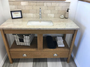 New bathroom vanity on sale