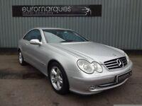 Mercedes CLK CLK 270 CDI AVANTGARDE (silver) 2004