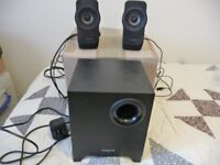 Creative A250 PC Desktop Speaker System With Sub