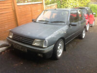 Peugeot 205 XRDT DTurbo Turbo Diesel GTI Wheels Leather Seats Spares Repairs Project