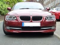 3 series BMW 320D SE Coupe 2012 / 61 Auto 184bhp black leather Pro-Nav FBMWSH Bluetooth and more