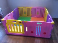 Extra Large Baby/child play Pen With Mats Included