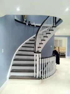 HUGE SALE ON SPINDLES , STAIR TREADS , HARDWOOD AND LAMINATE