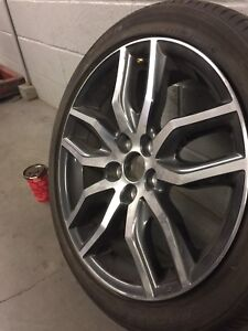 Toyota OEM rims and tires