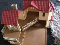 FOR SALE: Sylvanian Family Beechwood Hall used but in immaculate condition