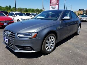 2013 Audi A4 2.0T 2.0T !! PREMIUM !! LOCAL VEHICLE !! ACCIDEN...