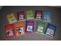 Diary of the wimpy kid books x10