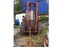 MANITOU FORKLIFT 2540 cc DIESEL 3501kg, 2 AXLE RIGID BODY NO VAT BREAKING