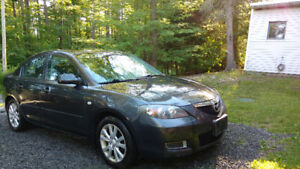 2007 Mazda 3 with 4 new all season tires