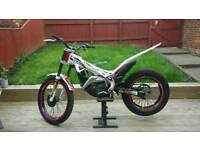 Beta evo 250cc 2011 swap montesa 4rt not gas gas sherco