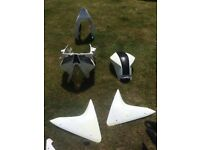 Yamaha r125 panels complete headlight, visor etc