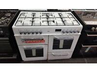 New graded bush range cooker 100cm duel fuel for sale in Coventry 12 month warrenty