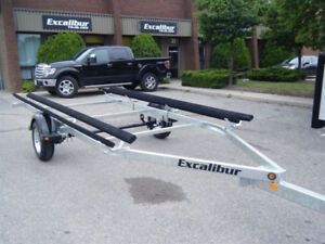 2017 Excalibur Pontoon Trailer - 1700lb capacity up to 19 ft.