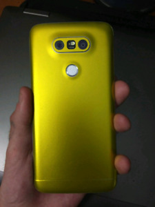 CUSTOM CHROME GOLD LG G5 32GB Factory Unlocked *TRADE*.