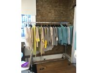fashion wholesale sales assistant needed to drive around U.K. and sell to boutique stores.