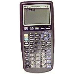 T1 83 graphing calculator