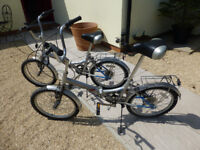 Folding Bicycles (2 Challenger folding bicycles)