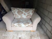 Large and very comfortable Armchair/ Two Seater