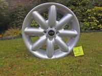 "Mini one Cooper & s R50 R52 R53 Genuine 17"" alloy wheel No.1"