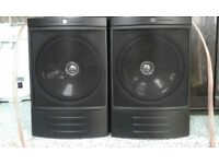 PAIR OF KEF Q8S SURROUND SPEAKERS & AN INFINITY CENTER CHANNEL SPEAKER