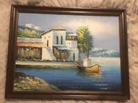 Framed picture - painting