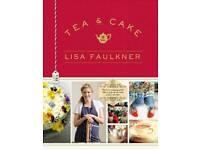 Lisa Faulkner tea and cake - brand new