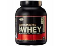 New Optimum nutrition whey protein 2.27kg
