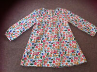Tu girls flowery dress 2-3 years new without tags