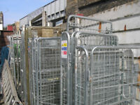 Moving Storage cage trolly