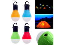 3 LED Bulb Tent Hanging Lamp