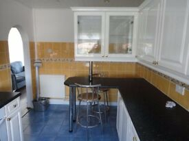 Large 2 bedroom split level flat is for rent in bellshill ,excellent location.