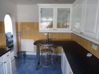 Large 2 bedroom split level flat is for rent in bellshill ,excellent location.
