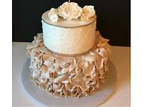 Celebrate with a bespoke cake or cupcakes