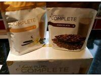 Juice Plus+ Complete x1 vanilla x1 chocolate