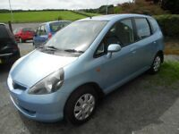 HONDA JAZZ 12 MONTHS MOT EXCELLENT SMALL FAMILY CAR MUST BE SEEN AND DRIVEN