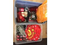2 Boxes of Assorted Christmas Decorations