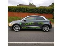 AUTOMATIC Driving lessons in Cardiff