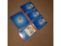 Job Lot Of Brand New Windows XP Professional Recovery CD-Roms x 5