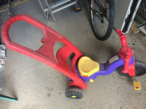 Trike with handle