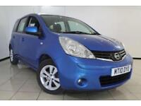 2010 10 NISSAN NOTE 1.4 ACENTA 5D 88 BHP