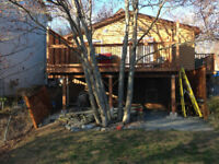 Experienced carpenter looking for work! DECKS!