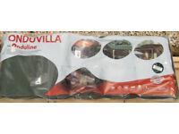 Onduvilla shaded green bitumen roofing tiles (pack of 7)