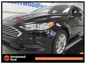 2017 Ford Fusion SE with sunroof, push start, back up cam, power