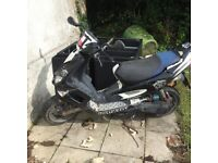 Spares or repair , strong engine with recent new barrel and piston