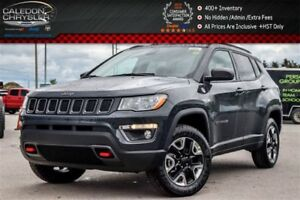 2017 Jeep Compass Trailhawk|4x4|Backup Cam|Bluetooth|R-Start|Lea